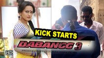 """Dabangg 3"" KICK STARTS with Chulbul Pandey Salman Khan"