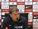"""Martino sobre los vómitos de Messi: """"No es normal, pero no le impide hacer su trabajo"""""""