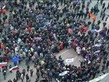 Cientos de prorrusos irrumpen en la sede de la delegación del Gobierno en Donetsk