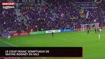 Wayne Rooney inscrit un coup franc incroyable en MLS (vidéo)