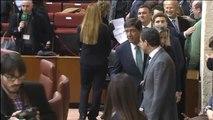 Ciudadanos y Vox se enfrentan a 17 días de la sesión de investidura en Andalucía