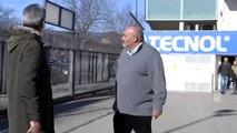 Los aficionados del Reus increpan a Joan Oliver, el máximo accionista del club