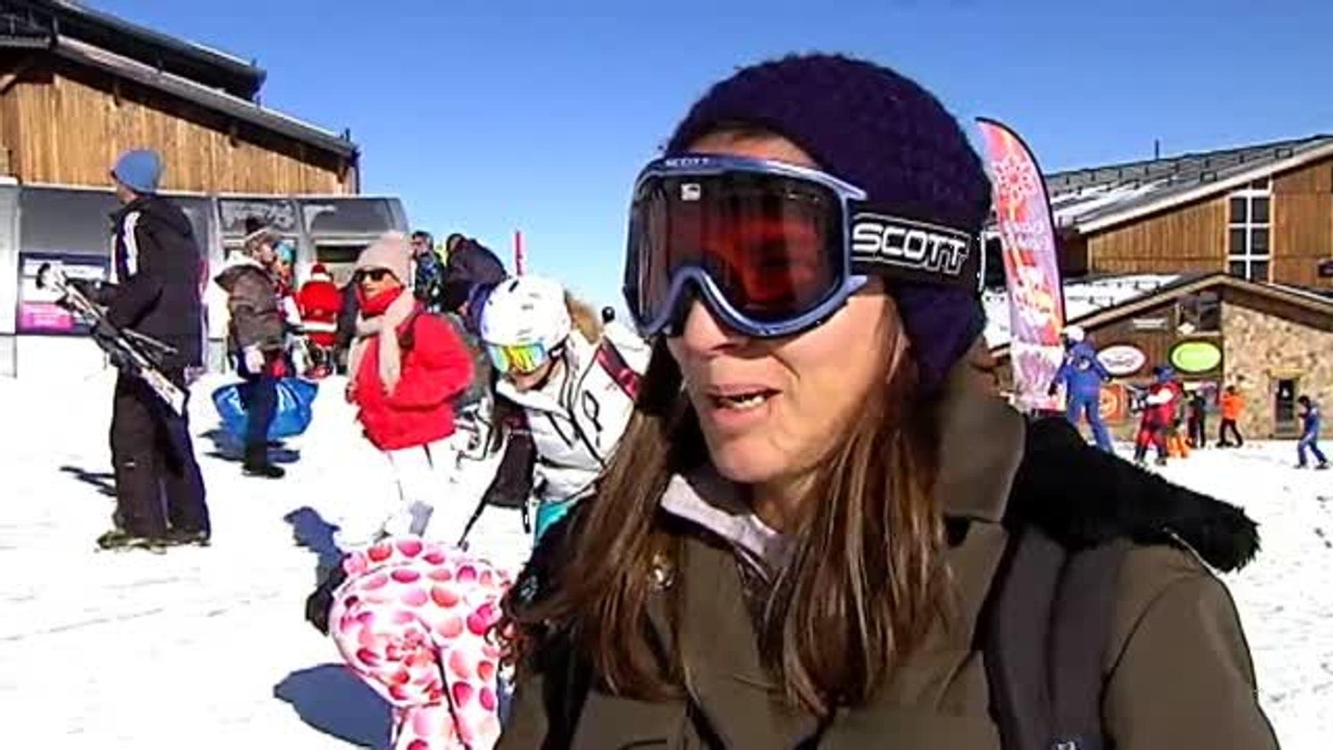 Las estaciones de esquí de toda España funcionan a pleno rendimiento en Navidad