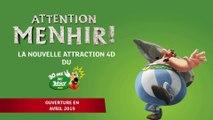 """Le Parc Astérix lance sa nouvelle attraction """"Attention Menhir !"""""""