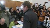 """Domènech vota en su colegio electoral: """" Una participación alta nos beneficia a todos"""""""