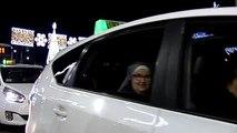 Los ancianos de Málaga verán el alumbrado navideño gracias a los taxistas