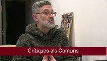 Carles Riera, sobre els Comuns