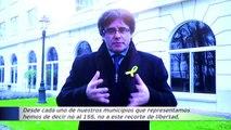 Puigdemont insiste en que impedir la investidura del actual Govern equivaldría a asumir el 155
