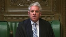 Speaker John Bercow selects four motions to be voted on