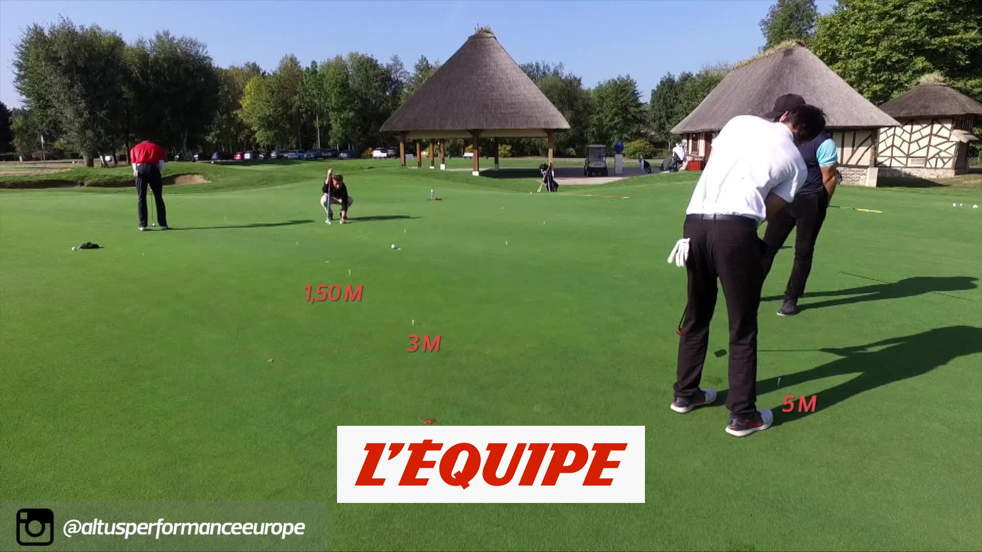 Être efficace au putting – Golf – Altus