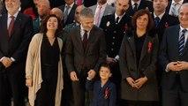 Un niño de 4 años recibe la medalla al Mérito Civil por salvar a su madre con una llamada al 112