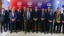 Pedro Sánchez asiste a la celebración del 20 aniversario de la Unión de Televisiones Comerciales en Abierto