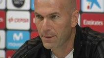 """Zidane: """"El derbi no es especial, son tres puntos más"""""""