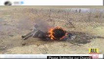 بھارتی ایئرفورس کا لڑاکا طیارہ مگ 27 گر کر تباہ | Ary News Headlines