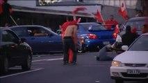 Disturbios en Nueva Zelanda tras un partido del Mundial de Rugby entre Nueva Zelanda y Tonga