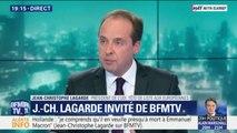 "Jean-Christophe Lagarde: ""Je ne veux pas que l'on taxe les GAFA"""