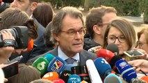 """Artur Mas: """"Esto no debería estar ocurriendo"""""""