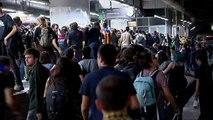 Las estaciones de tren, los puntos más afectados por la huelga en Cataluña