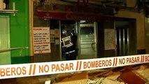 Un edificio de dos alturas se derrumba en Valencia