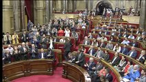 """Lluís Corominas: """"Este Parlamento y el Gobierno de Cataluña no son propiedad del Consejo de Ministros del PP"""""""