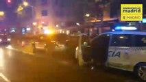 Herido grave un hombre de 68 años atropellado por un vehículo sin conductor en Madrid