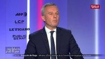 Affaire Benalla : « Les parlementaires, leur rôle ce n'est pas d'être des enquêteurs de police », sermonne François de Rugy