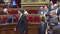 Mariano Rajoy y Pedro Sánchez se reúnen de urgencia para consensuar una respuesta a Puigdemont