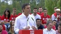 """Pedro Sánchez: """"El PSOE siempre va a reivindicar el diálogo como forma de hacer política"""""""