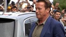 Arnold Schwarzenegeer llega al Festival Internacional de Cine de San Sebastián