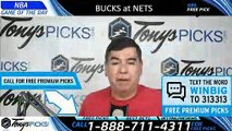 Milwaukee Bucks vs Brooklyn Nets 4/1/2019 Picks Predictions