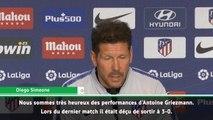 """Atlético - Simeone : """"Si Griezmann a quelque chose à annoncer..."""""""