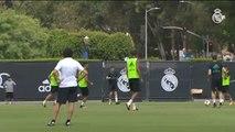 El Real Madrid regresa a los entrenamientos en Los Angeles