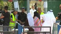 Agitada reapertura de los accesos a la explanada de las mezquitas en Jerusalén