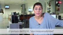 """Lorena Ruiz- Huerta  - El portazo del PSOE, """"una irresponsabilidad"""""""