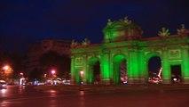 Alcalá y Cibeles se iluminan de verde con motivo del Día Mundial del Medio Ambiente