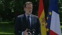 """Rajoy: """"Siempre estaré dispuesto a hablar con Pedro Sánchez"""""""