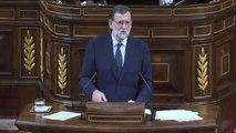 """Rajoy a Iglesias: """"Está usted muy bien donde está"""""""