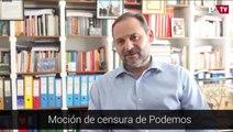 ENTREVISTA ABALOS - Mocion de censura de Podemos