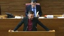 Los diputados del PP en las Cortes Valencianas abandonan el hemiciclo