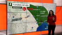 Severe storms eye central US at midweek