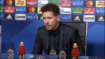 """Simeone: """"Mi ilusión era hacer un equipo competitivo y estamos compitiendo"""""""
