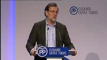 """Rajoy sobre el anuncio de ETA: """"No habrá nada a cambio de nada, porque nada puede haber"""""""