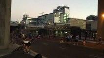 Un viento huracanado obliga a cancelar el campeonato de ciclismo de Ciudad del Cabo