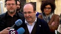 """Miquel Iceta cree que ERC """"se está preparando para unas elecciones"""""""