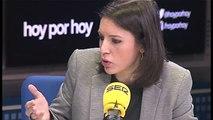 """Irene Montero ve """"extraña"""" la denuncia de un grupo de periodistas a Podemos por acoso"""