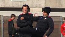 El Sevilla prepara el partido que disputarán con el Athletic de Bilbao