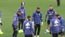 El Real Madrid encara con buen ánimo el duelo con el Celta