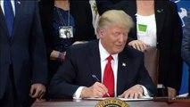 Trump asegura que la construcción de los 1.200 kilómetros de muro los acabará sufragando México de una u otra forma