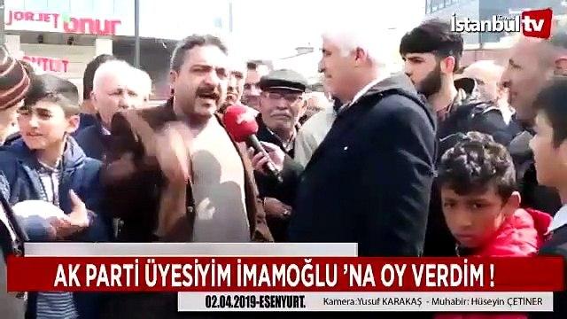 Ekrem İmamoğlu'na neden oy verdiğini anlatan AKP'li vatandaş