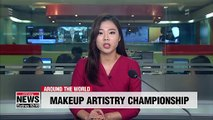 Apprentice makeup artist compete for competition prize in Germany